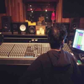 Mixing at ES Audio in Los Angeles, CA