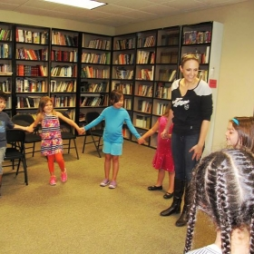 Working with my little ones over the summer at Performing Arts Workshops as their Site Director and Acting Instructor!