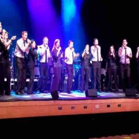 Soloing in the jazz choir Vocal Union