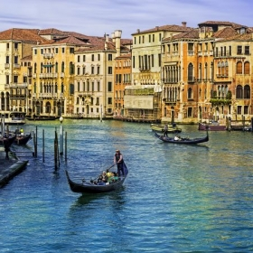 Venice, Italy during morning hour