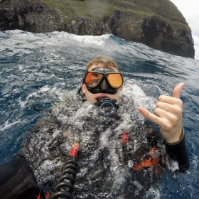 SCUBA diving in the Galapagos Archipelago!