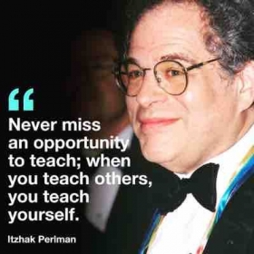 A quote and a man that I find very inspirational as a teacher.