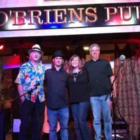 My band One Eye Open at O'Briens
