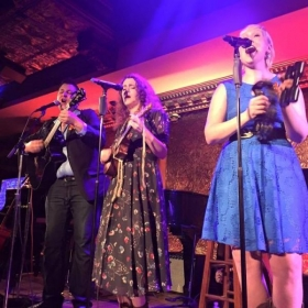 In concert at New York City's 54 Below.