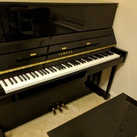 My piano at home.