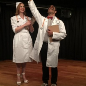 "Playing ""Nurse Janet"" in Rocky Horror Picture Show!"