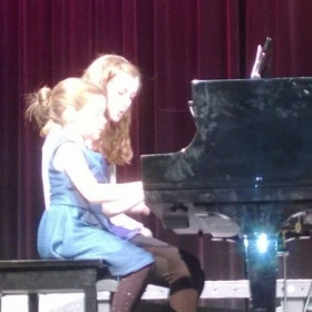 Duet with miss Paxton!