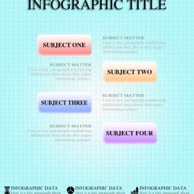 Create Infographics for school and work!