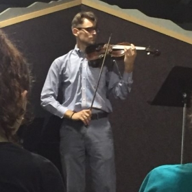 Playing Sibelius Violin Concerto for Master Class with Faculty from Wintergreen Music Festival