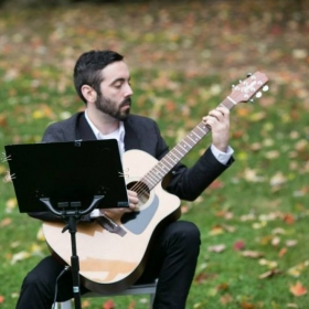 Solo guitar for a wedding ceremony.