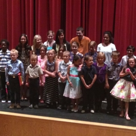Piano recital with all of my wonderful students!