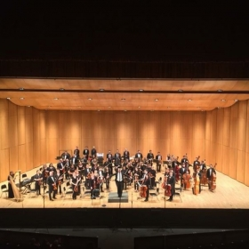 Dana Symphony Orchestra performing Beethoven's Fateful Fifth Concert. November 2, 2017