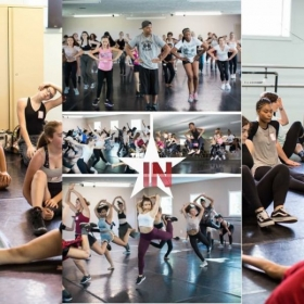 This is when I taught auditions for the INstitute of Dancers in June 2017. (Pictured bottom center)