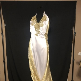 Image of dress before fashion show
