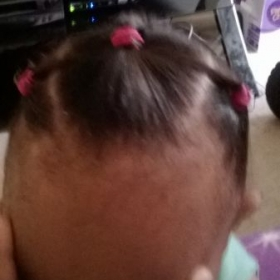 My daughter's style done by myself.
