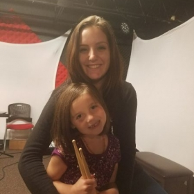 One of my most successful, ever improving students, this 6 year old has learned how to read and play rhythm on the drum set within 2 months!