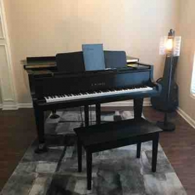 Here is my Piano and Studio 🎹😁
