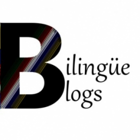 The other half of the Bilingüe Blogs logo