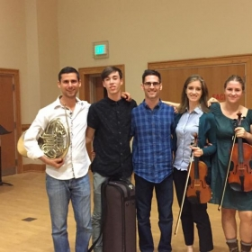 With workshop attendees: I work with all sorts of musicians.
