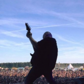 Live in Germany at the With Full Force Festival 2016 playing guitar for Six Feet Under