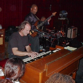 Gigging at the Boom Boom Room in SF. (02/2008)