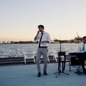 Singing Recital by the water, 2017