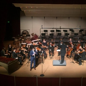 Performance at University of the Pacific's Annual Concerto Competition.