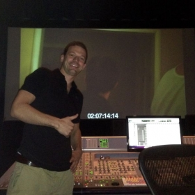 "Composer for the feature film, ""Killer Party"".  Mixing day at Puget Sound Studios in Los Angeles."
