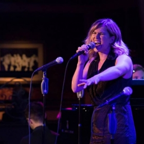 Singing at Feinstein's/54 Below for Broadway Back to School 2017