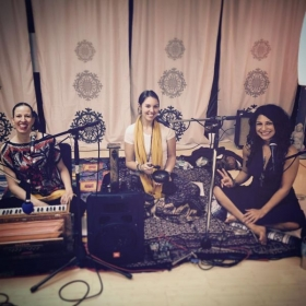 Indian classical fusion acoustic gig with 2 wonderful ladies