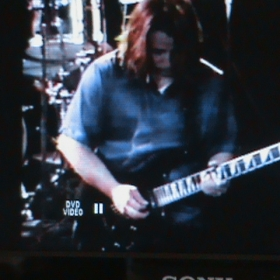 Rick Playing a guitar solo