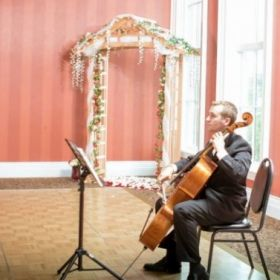 The Wedding Cellist...