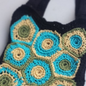 Boho Crochet Market Bag
