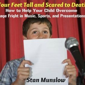 Another recent title I released as an audiobook offering solutions to parents of children suffering from stage-fright.
