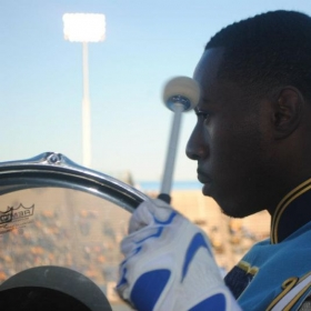 "This photo was taken in Fall of 2013, one out of 3 seasons I marched with the Southern University A&M College ""Human Jukebox"" Marching Band."