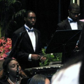 Spring 2014; one of 5 seasons where I participated in the Southern University Wind Ensemble as a melodic percussionist.