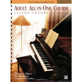 Alfred's Adult Piano Course is a great curriculum for any adult