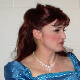 "Carolyn as Musetta in ""La Boheme"", University of Minnesota"