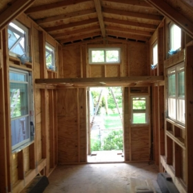 TINY HOUSE FRAMING