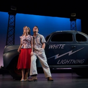Dixie in WHITE LIGHTNING at the Alabama Shakespeare Festival