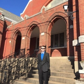 First Day on the job as a church musician!