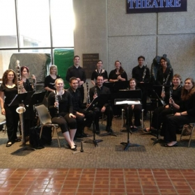 LSU Clarinet studio - 2011