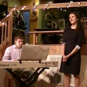 """Two Sides to Every Song"" Recital 2017, pianist Ricky Satterness"