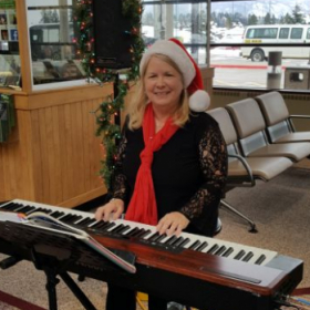 2019,Performing holiday music at a venue