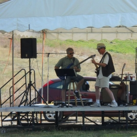 """Bogus Basin's summer concert series, """"Music on the Mountain"""" 2015 with Michael Brown."""