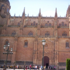 A church in Salamanca, Spain near my school.