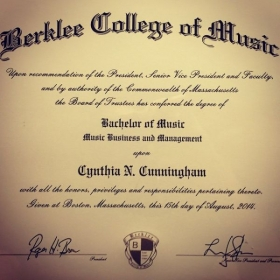 A picture of my first degree