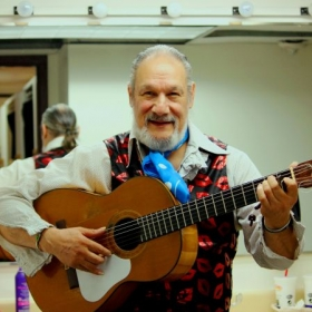 René Heredia. Flamenco and Classical guitarist.