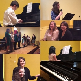 Photo's of our recital day! This recital featured voice, piano, and guitar.
