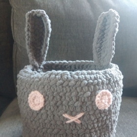 My most recent creation: Bunny Basket